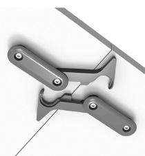 Pièce d'accroche - Kit 4 crochets de liaison pour Table DANDY