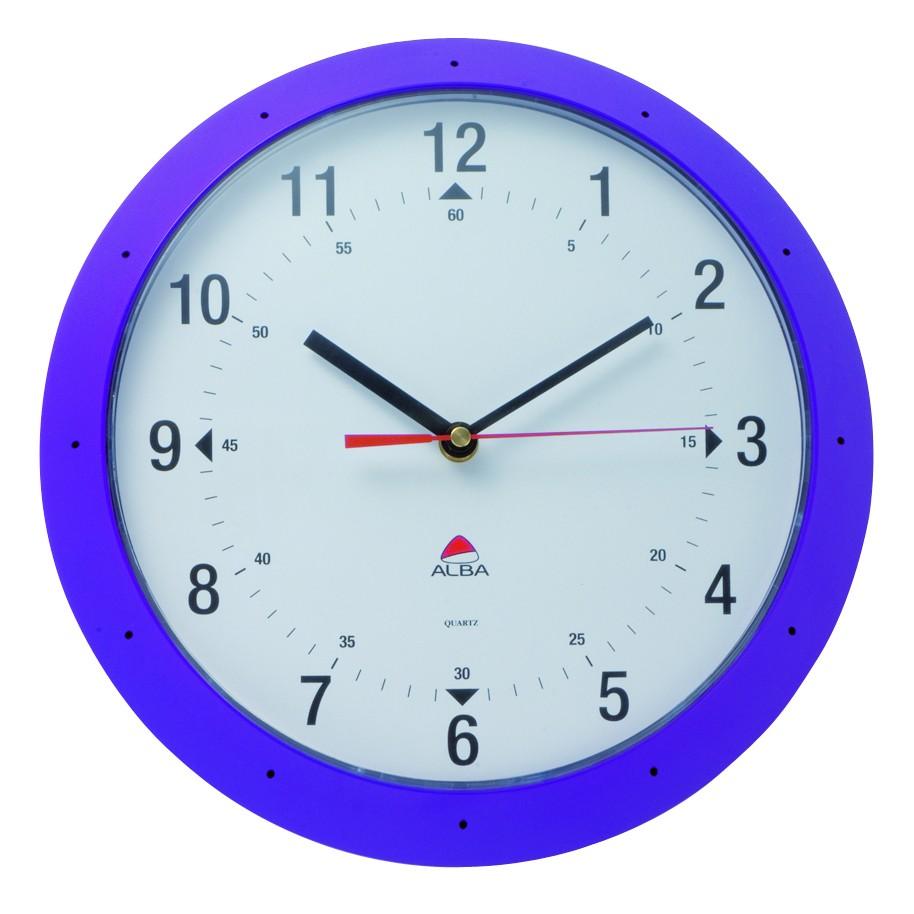 horloge murale time achat horloges 35 00. Black Bedroom Furniture Sets. Home Design Ideas