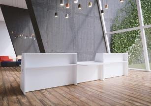 Mobilier Banque d'accueil - Banque d'accueil Hello comptoir double