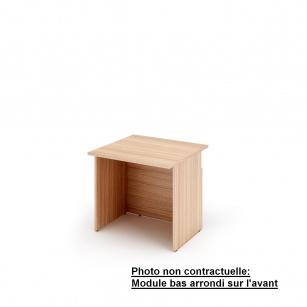 Mobilier Banque d'accueil - Module bas Muse