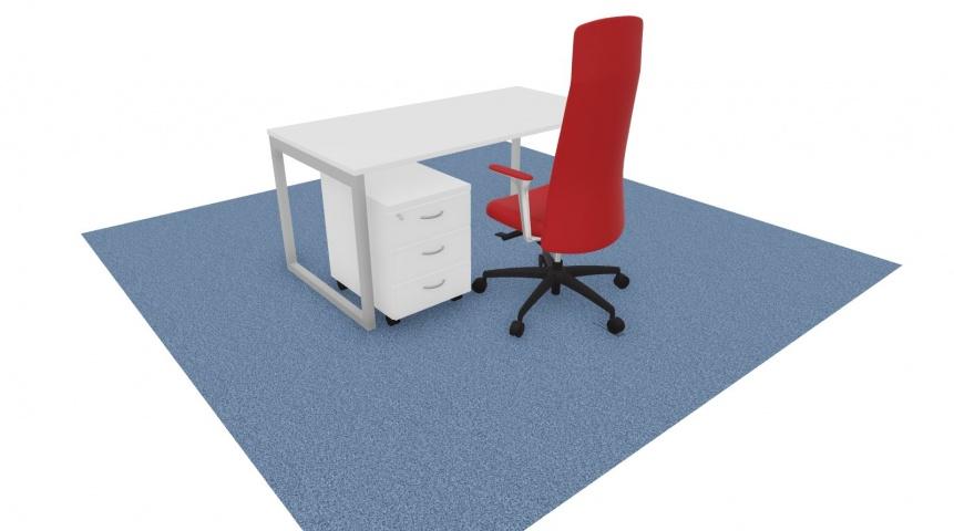 Bureau bench 1 personne RECTO