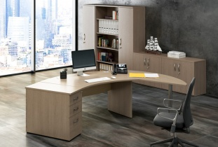 Bureau de direction - Bureau de direction courbe CURVY