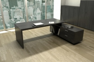 Bureau de direction - Bureau de direction Flora sur console