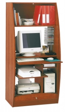 Bureau Home office - Armoire multimédia