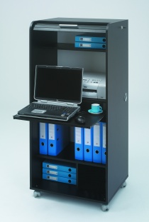 Bureau Home office - Secrétaire informatique mobile