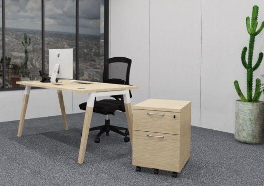 Bureau individuel Oslo Prof.80 cm