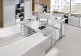 Bureau réglable en hauteur - Bureau Assis-debout électrique ADAPT 200 x 100
