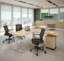 Bureau assis debout - Bureau Assis-debout électrique Modul avec retour