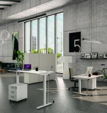 Bureau réglable en hauteur - Bureau électrique assis-debout ECO-UP