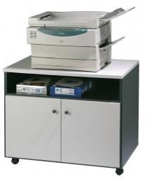 Bureau télétravail - Meuble mobile pour photocopieur