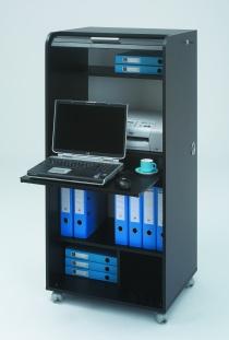 Bureau télétravail - Secrétaire informatique mobile