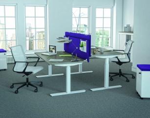 Bureau réglable en hauteur - Bureau assis-debout électrique ARTY'UP