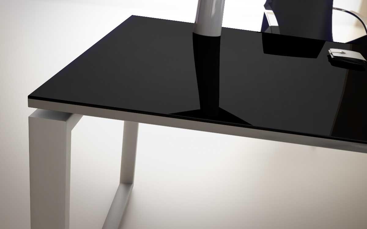Retour bureau diamant achat retours angles de liaison for Bureau 70 cm de large
