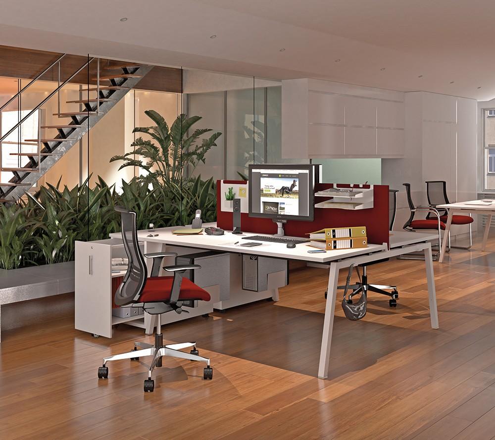 bureau bench 2 personnes arty. Black Bedroom Furniture Sets. Home Design Ideas
