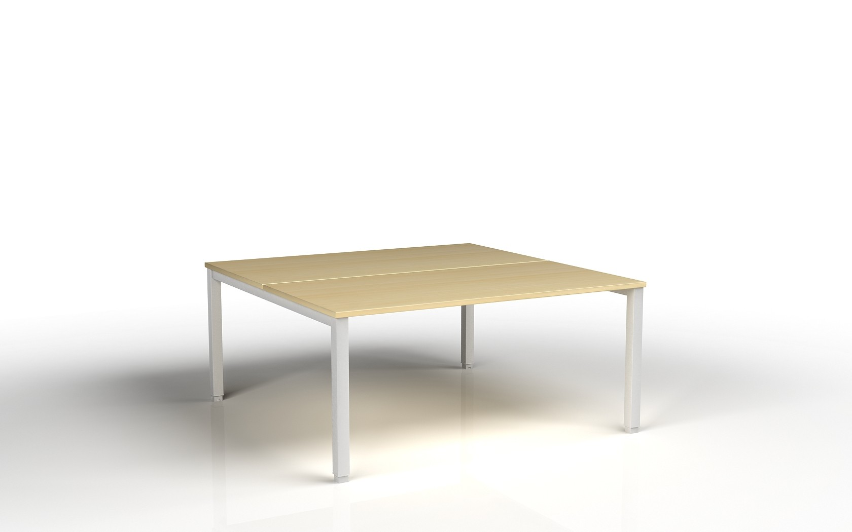 Bureau bench 2 personnes tempo achat bureaux bench 339 00 for Bureau 60 cm de large