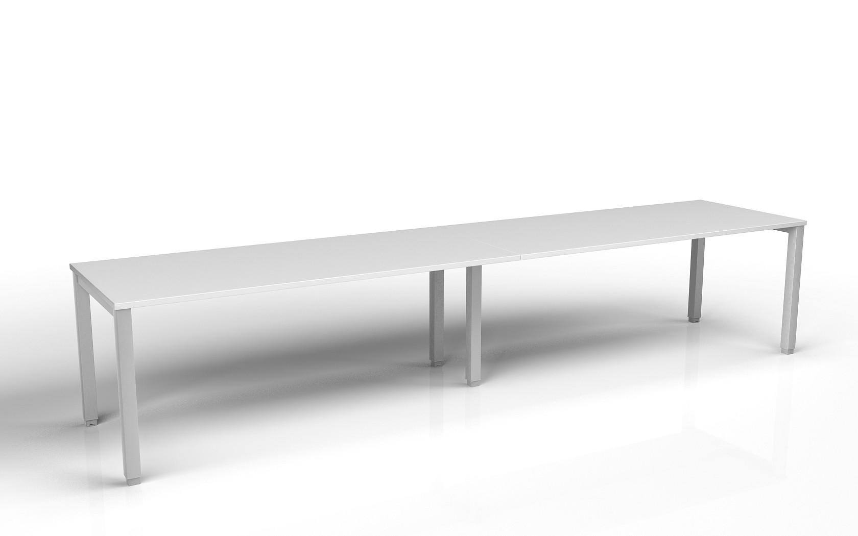 Bureau bench 2 personnes tempo profondeur 60 cm achat for Bureau 60 cm de profondeur