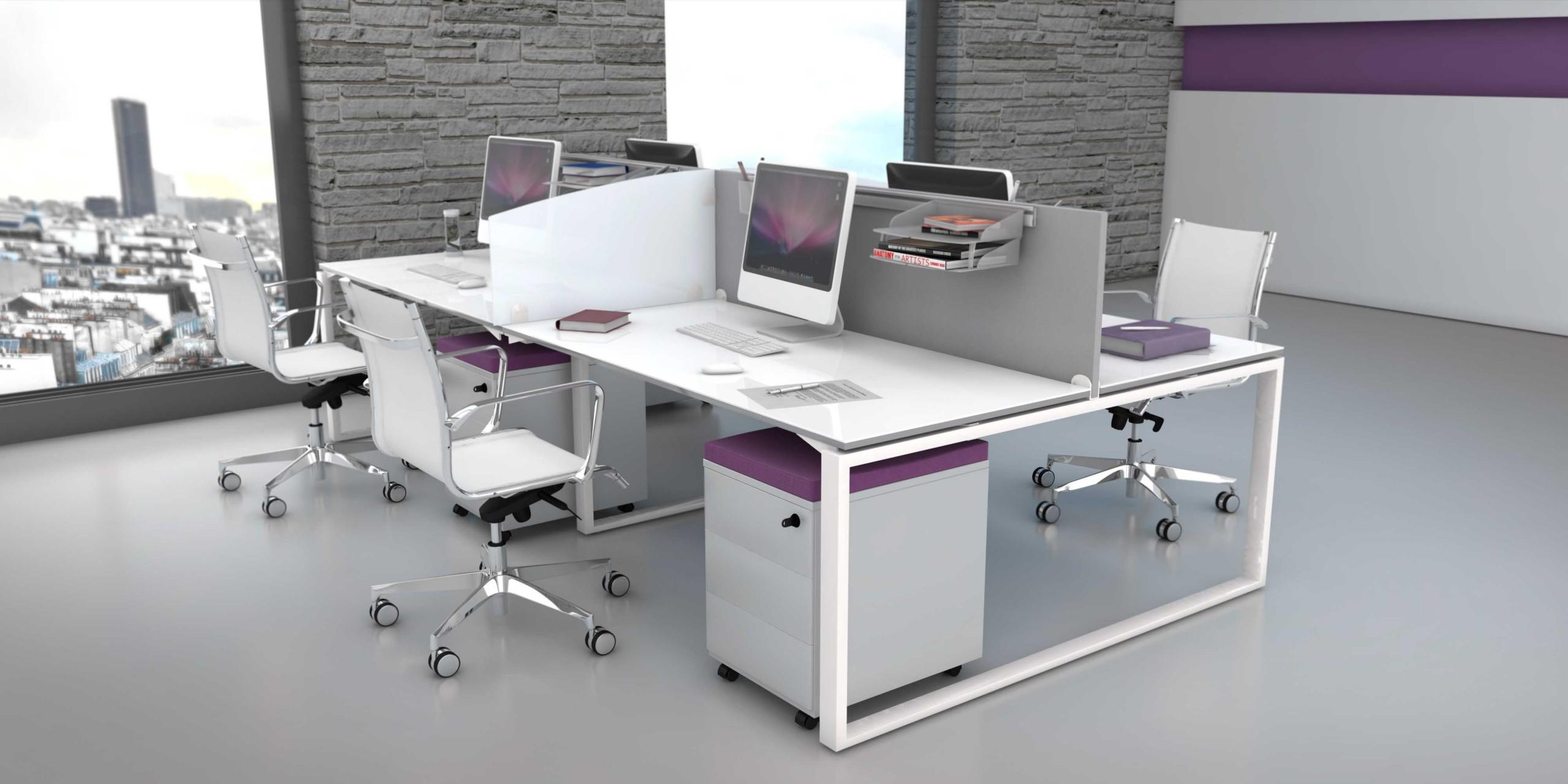 Bureau bench 4 personnes cool achat bureaux bench 912 00 for Mobilier bureau 4 personnes