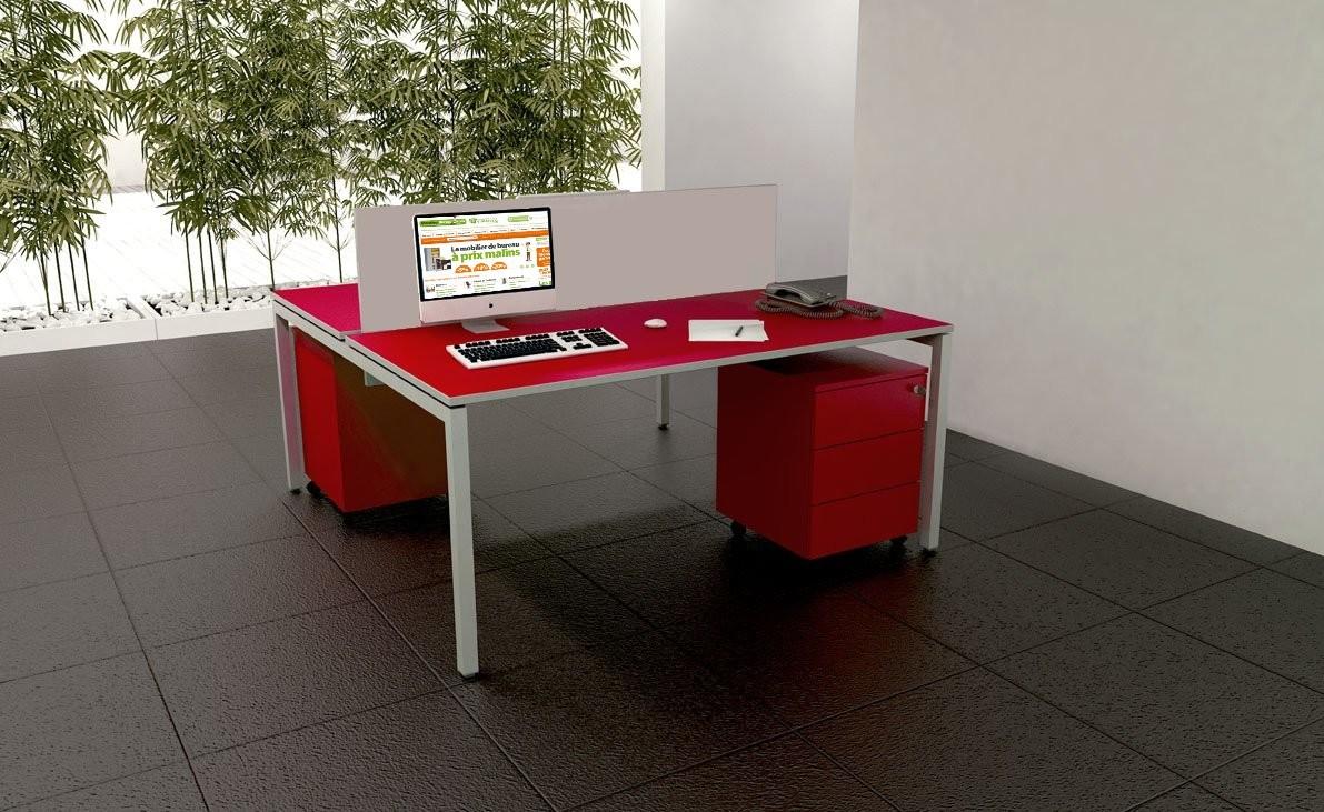 Bureau modulaire venere achat bureaux bench 442 00 for Bureau pour 2 personnes