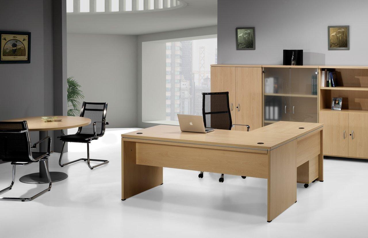 bureau de direction koalin. Black Bedroom Furniture Sets. Home Design Ideas