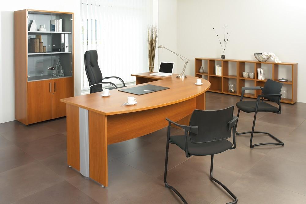 bureau de direction majesty achat bureau professionnel pas cher 293 00. Black Bedroom Furniture Sets. Home Design Ideas