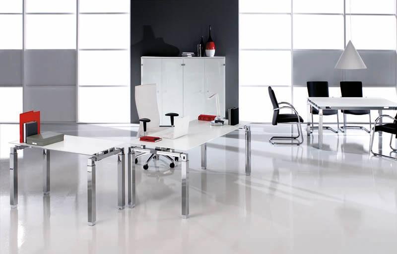 bureau en verre rock 4 160 cm x 80 achat bureau design 617 00. Black Bedroom Furniture Sets. Home Design Ideas