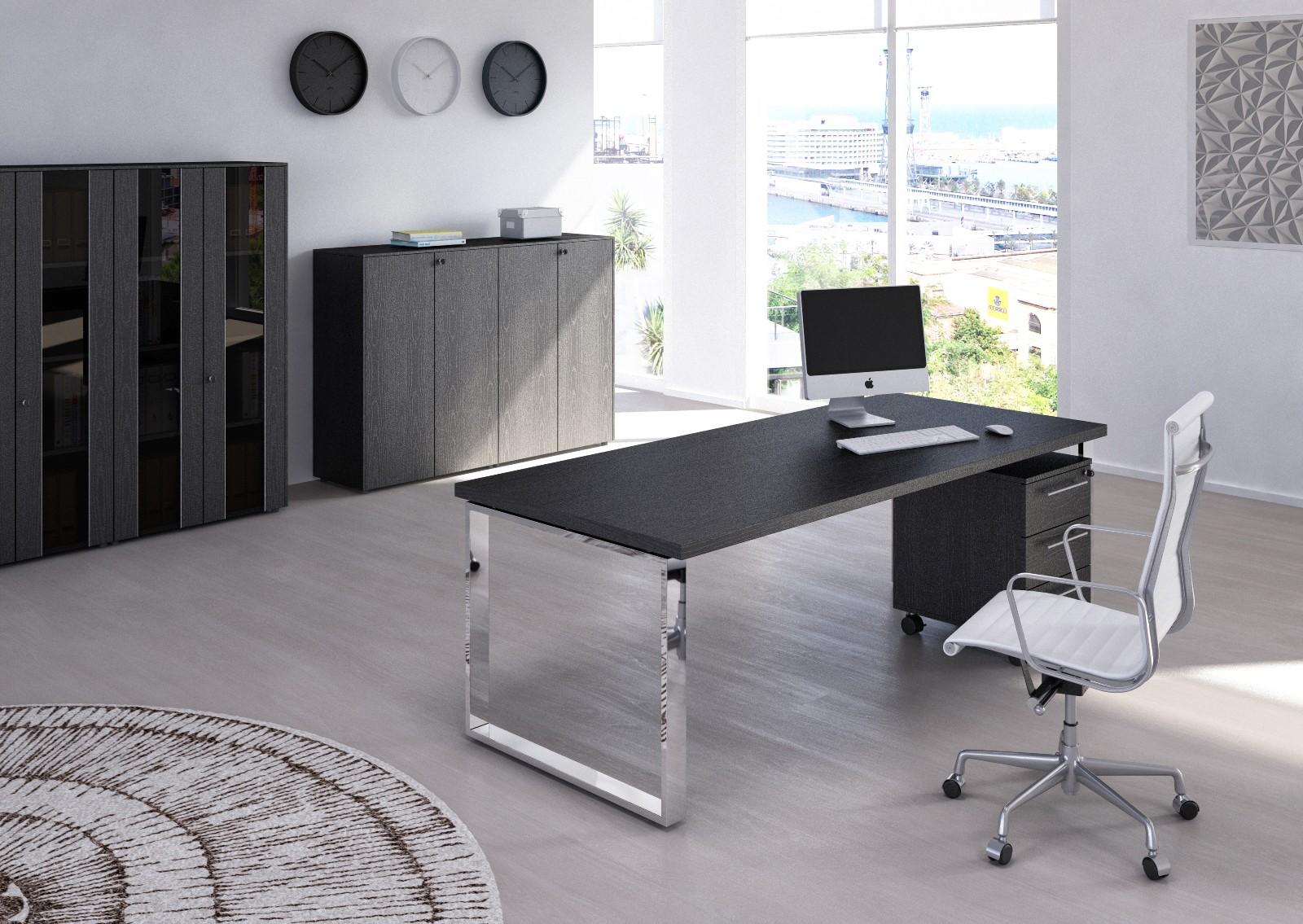 bureau flora m tal achat bureaux de direction 556 00. Black Bedroom Furniture Sets. Home Design Ideas