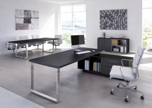 Frene noir et mobilier de bureau monsieurbureau.com le