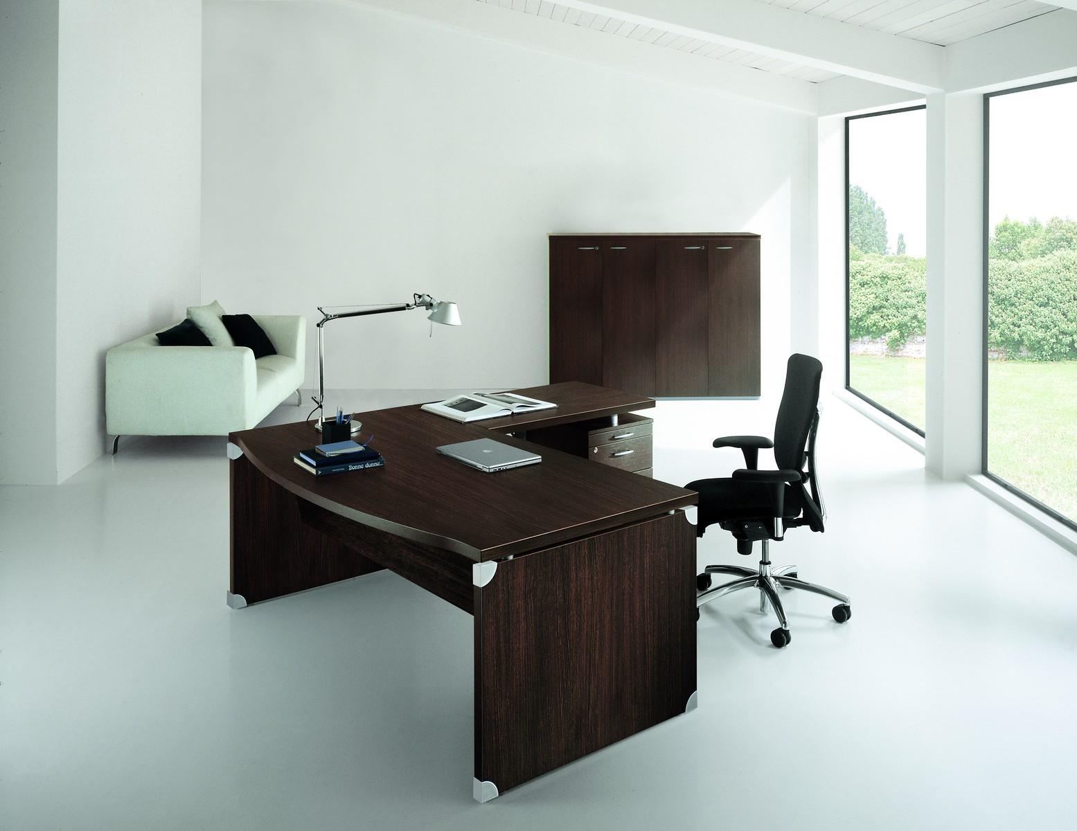 bureau tal s avec retour sur caisson achat bureaux de. Black Bedroom Furniture Sets. Home Design Ideas