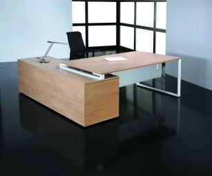 Bureaux d'angle - Bureau Urban Manager sur console