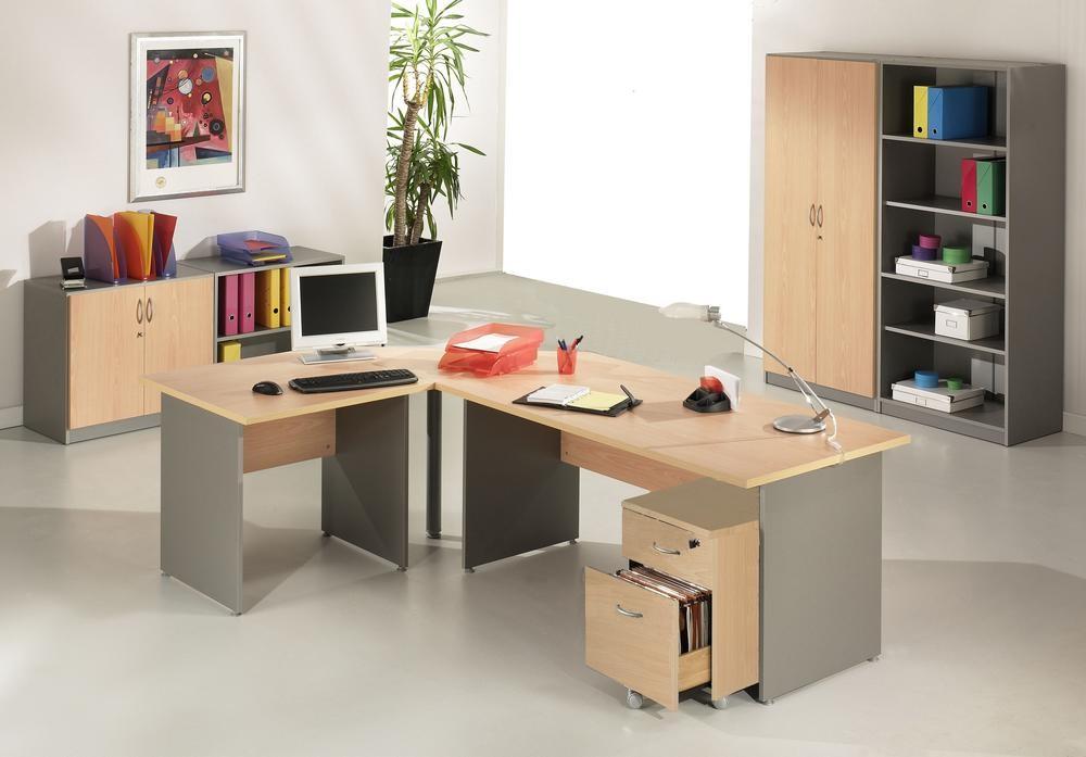 Bureau design vintage en hêtre année bois matériau