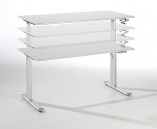 Bureaux réglables en hauteur - Bureau assis-debout Actif
