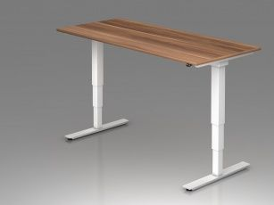 bureau assis debout lectrique adapt 200 x 100. Black Bedroom Furniture Sets. Home Design Ideas