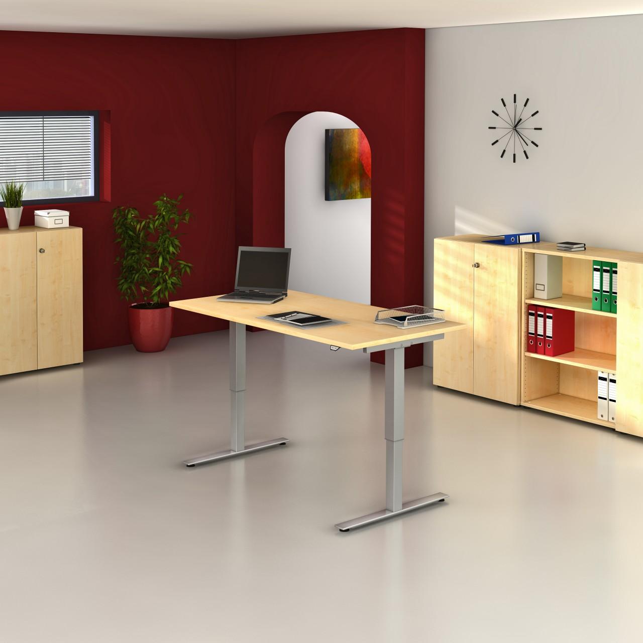 bureau assis debout lectrique down up achat bureaux r glables en hauteur 849 00. Black Bedroom Furniture Sets. Home Design Ideas