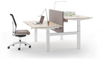 Bureaux réglables en hauteur - Bureau Bench assis-debout electrique ALTIM