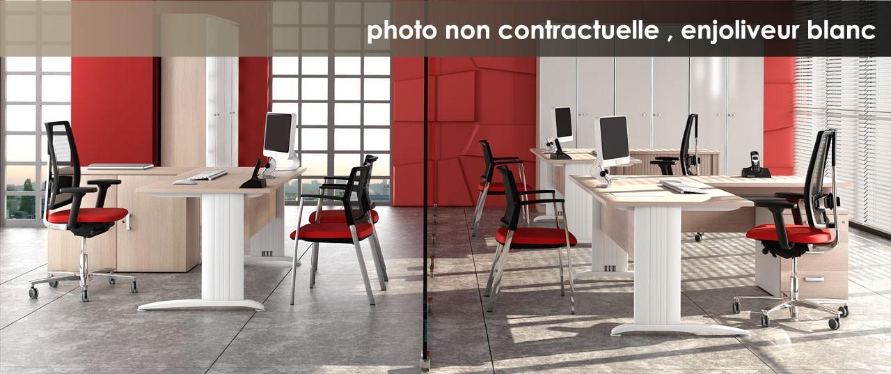 Bureau r glable en hauteur atlas achat bureaux r glables - Treteau reglable en hauteur ...