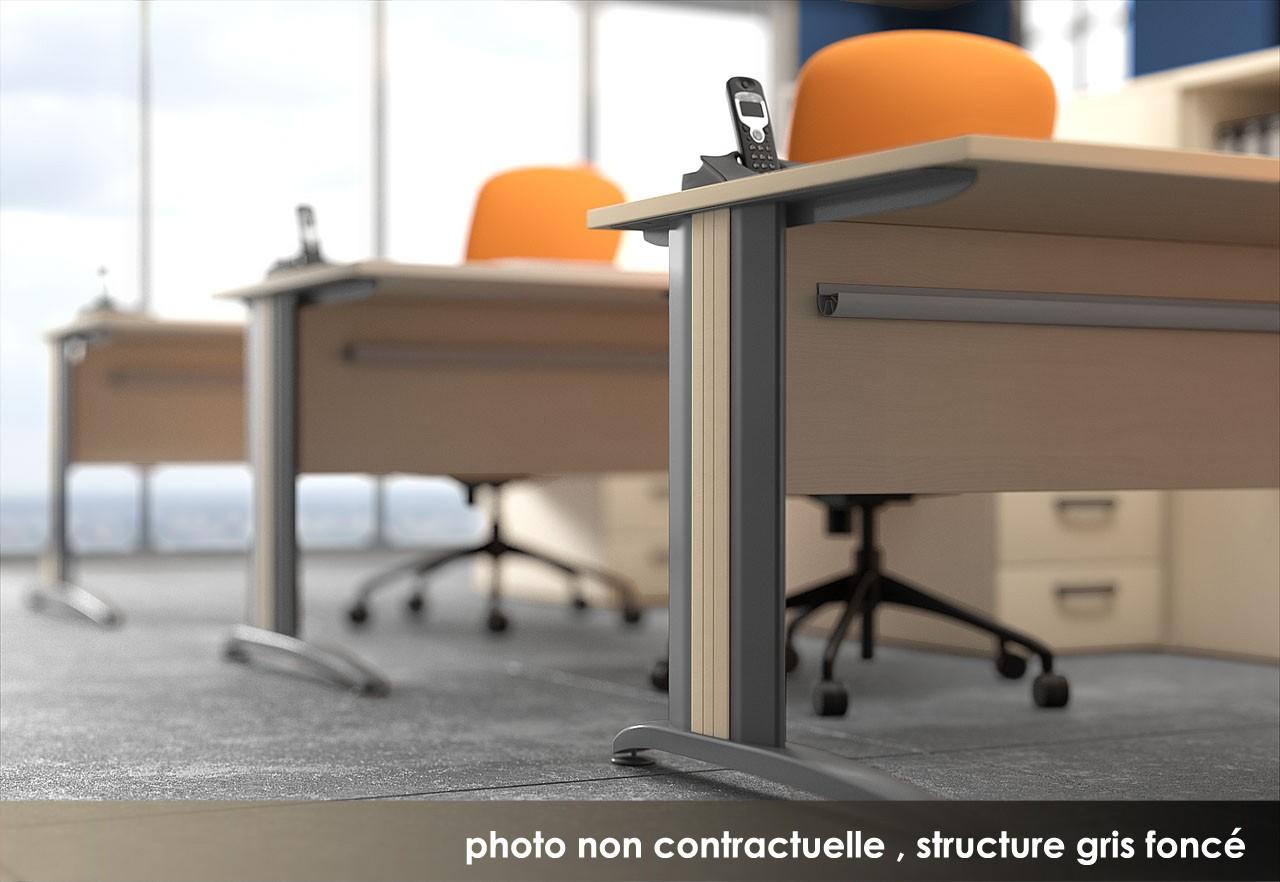 bureau r glable en hauteur atlas achat bureaux r glables. Black Bedroom Furniture Sets. Home Design Ideas