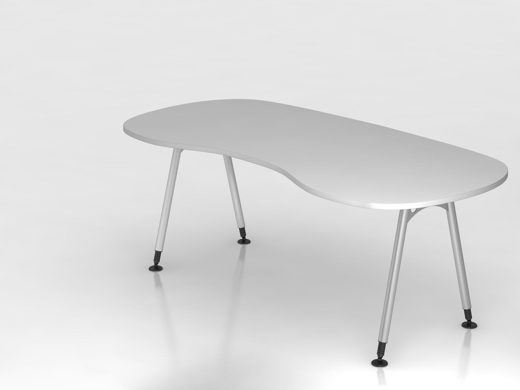 bureau r glable en hauteur courbe alpha achat bureaux r glables en hauteur 441 00. Black Bedroom Furniture Sets. Home Design Ideas
