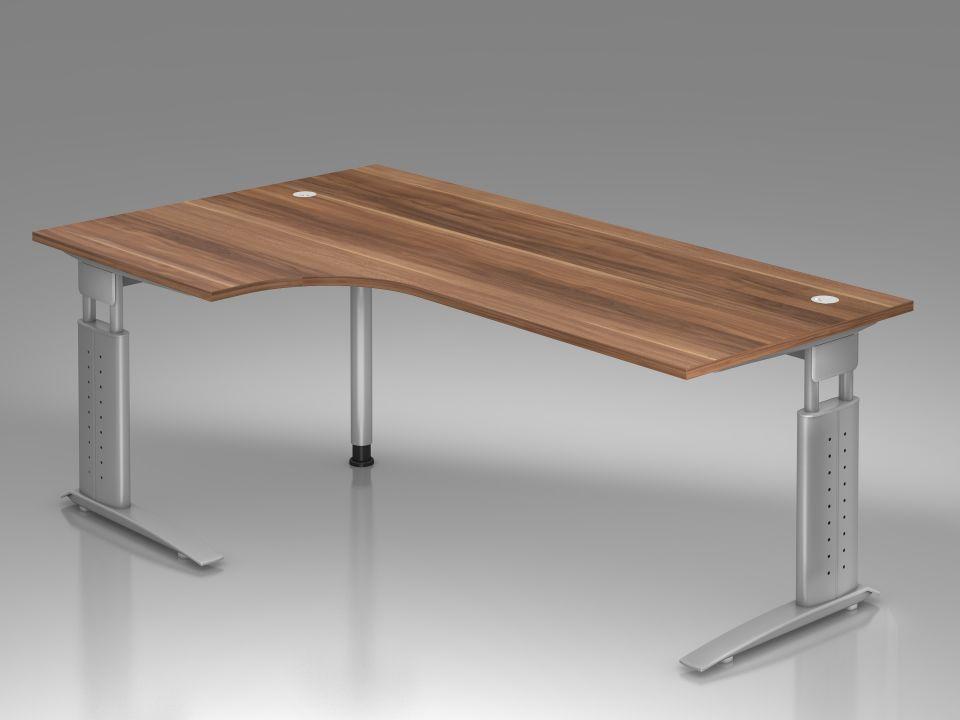 bureau r glable en hauteur ergonomique plus compact. Black Bedroom Furniture Sets. Home Design Ideas