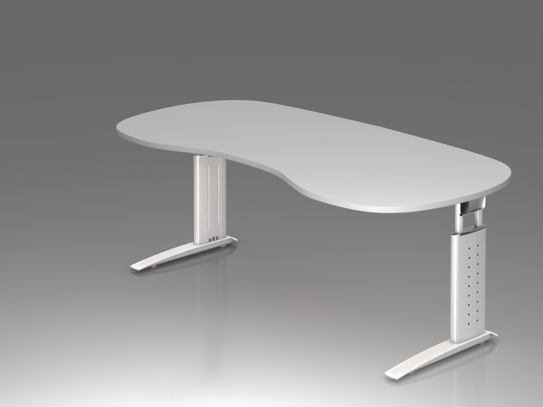 Bureau réglable en hauteur ergonomique plus courbe achat bureaux