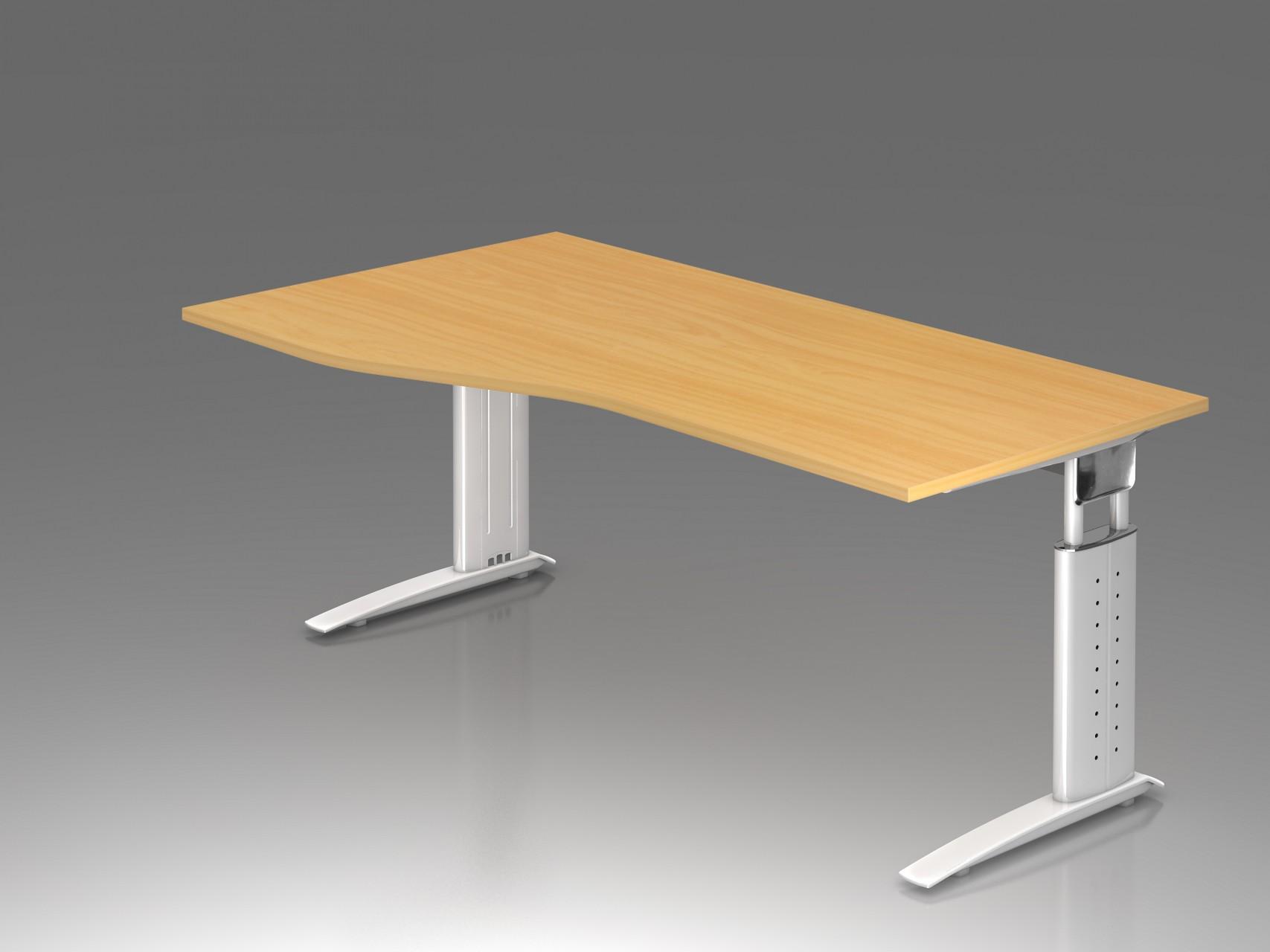 bureau r glable en hauteur ergonomique plus vague achat. Black Bedroom Furniture Sets. Home Design Ideas