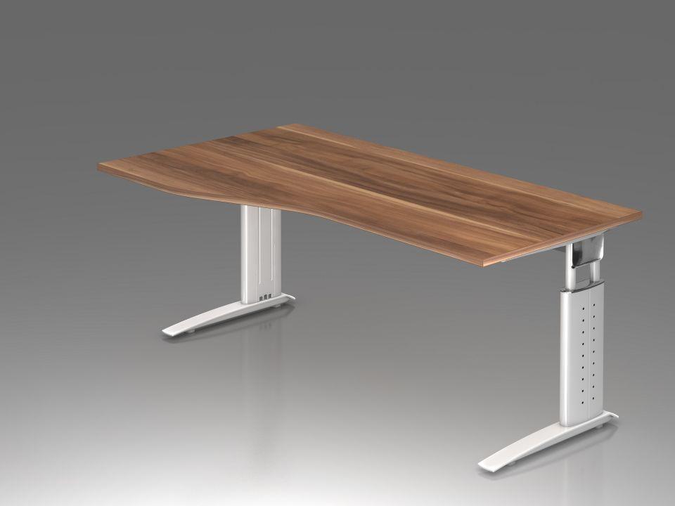 Bureau r glable en hauteur ergonomique plus vague achat - Pied de bureau reglable ...
