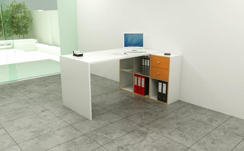 bureau angle vesta 1 achat bureau professionnel pas cher 256 00. Black Bedroom Furniture Sets. Home Design Ideas