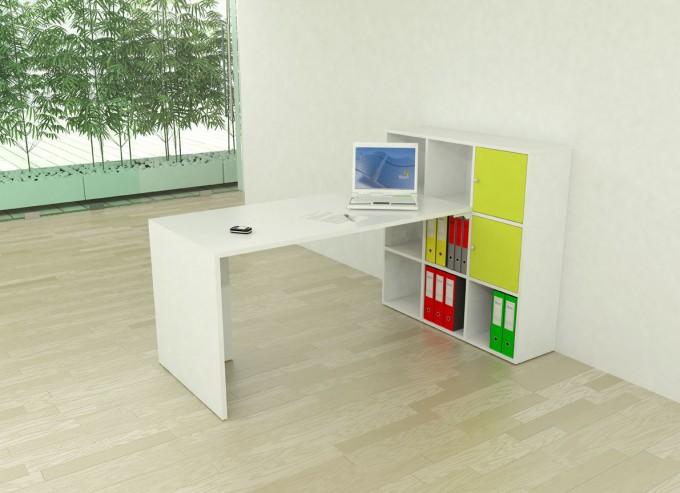 bureau angle vesta 2 achat bureau professionnel pas cher 277 00. Black Bedroom Furniture Sets. Home Design Ideas