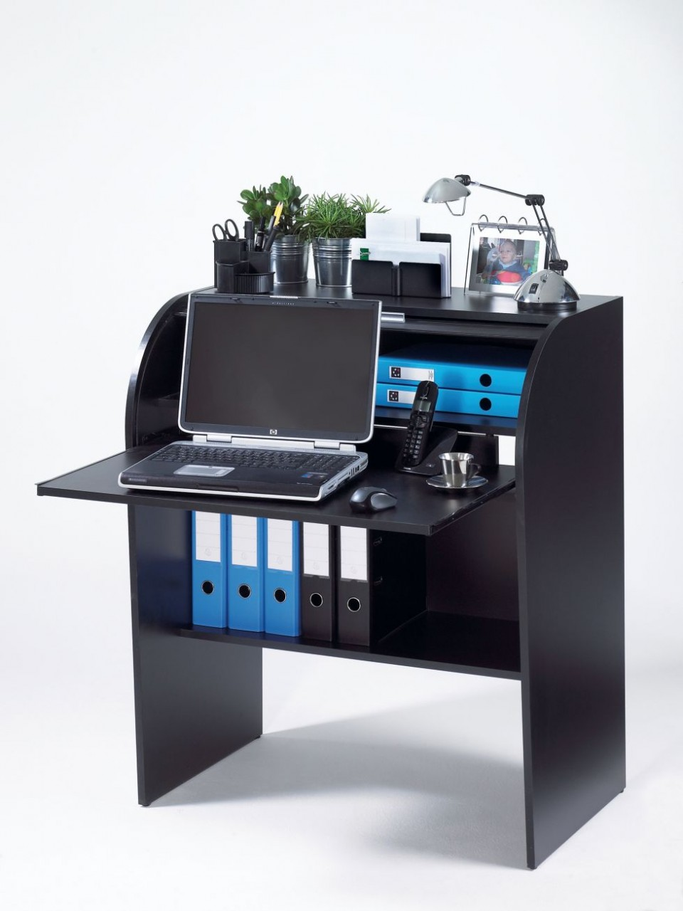 bureau cylindre achat home offices 155 00. Black Bedroom Furniture Sets. Home Design Ideas