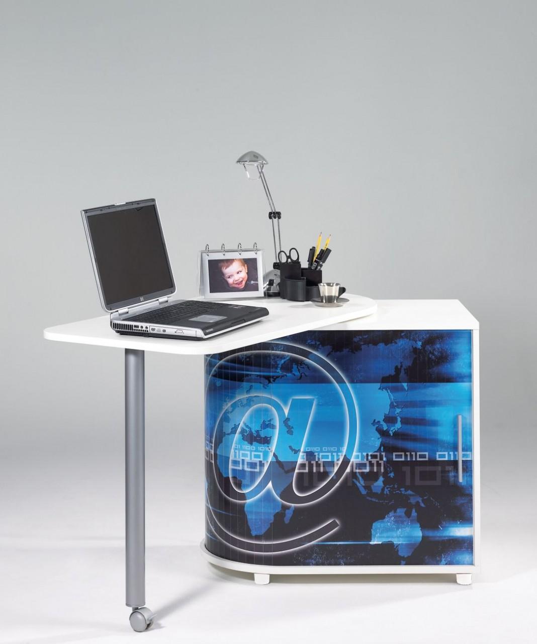bureau gain de place achat home offices 205 00. Black Bedroom Furniture Sets. Home Design Ideas