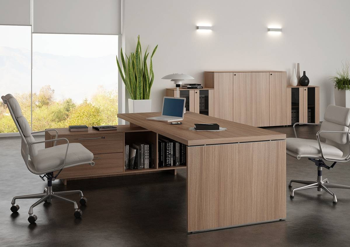 Bureau de direction flora sur console for Bureau de direction