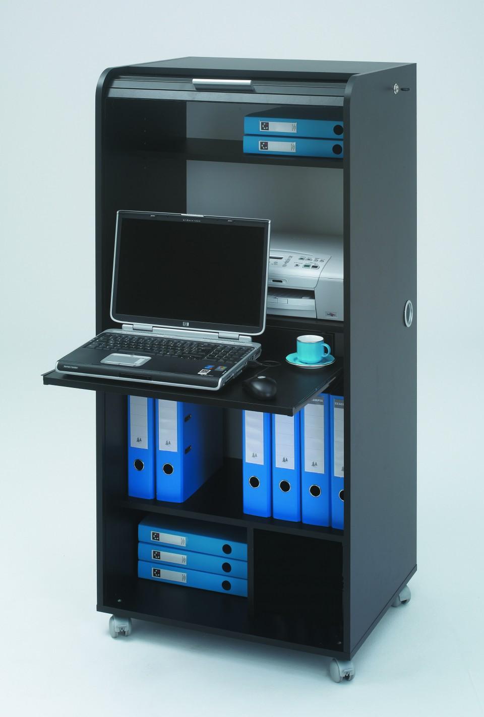 Secr taire informatique mobile - Meuble secretaire pour ordinateur ...