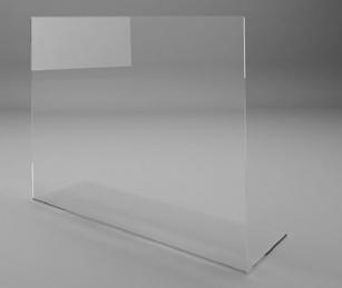 Hygiène et protection - Cloison de protection Viséo par 10 exemplaires