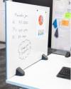Panneau écran pour bureaux - Cloison séparatrice/tableau magnétique de bureau
