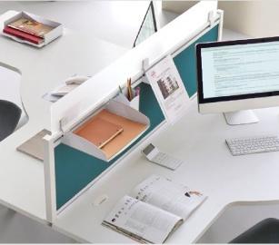 Panneau écran pour bureaux - Panneau écran Tissu avec ou sans réhausse